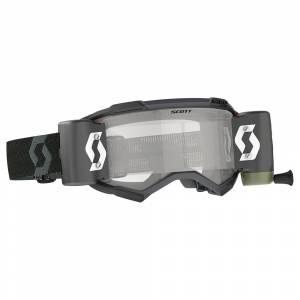Scott Fury Black Clear Lens WFS Goggles