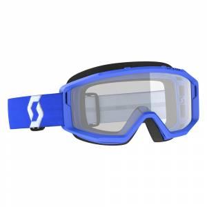 Scott Primal Blue Clear Lens Motocross Goggles
