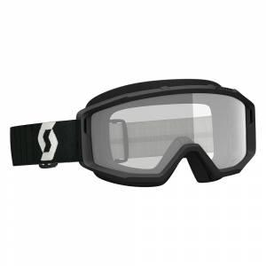 Scott Primal Black Clear Lens Motocross Goggles