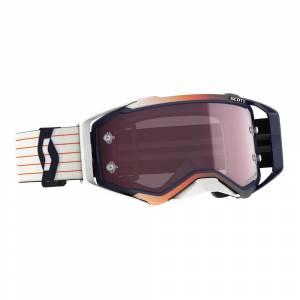 Scott Prospect Amplifier Blue White Rose Lens Motocross Goggles