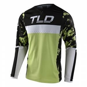 Troy Lee Designs SE Pro Dyeno Glo Green Motocross Jersey