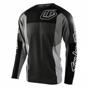 Troy Lee Designs SE Pro Quattro Grey Black Motocross Jersey