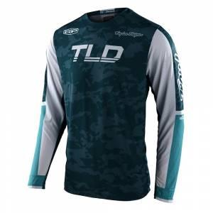 Troy Lee Designs GP Air Veloce Camo Marine Motocross Jersey