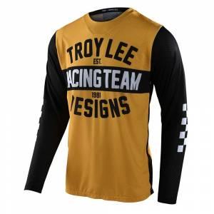 Troy Lee Designs GP Air Team 81 Yellow Black Motocross Jersey