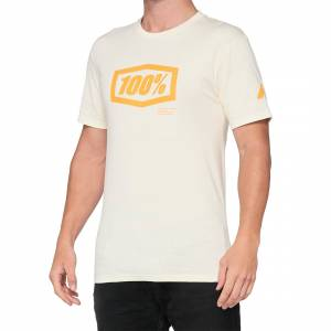 100% Essential Chalk Orange T-Shirt