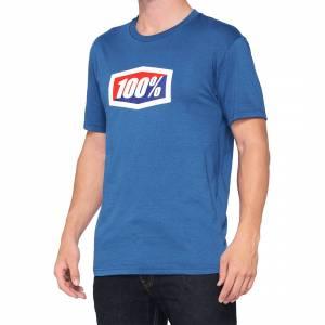 100% Official Blue T-Shirt