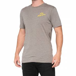 100% Dakota Heather Grey T-Shirt