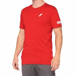 100% Tiller Red T-Shirt