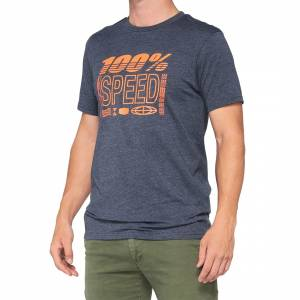 100% Trademark Navy Heather T-Shirt