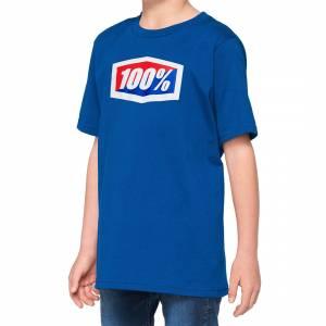 100% Kids Official Blue T-Shirt