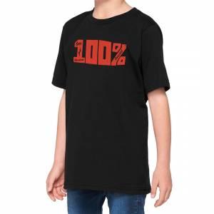 100% Kids Kurri Black T-Shirt