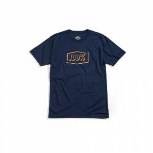 100% Phantom Tech Navy Heather T-Shirt
