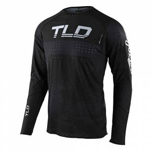 Troy Lee Designs SE Ultra Grime Black Charcoal Motocross Jersey
