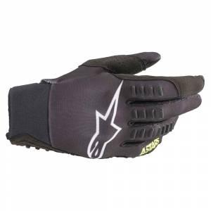 Alpinestars SMX-E Black Yellow Fluo Motocross Gloves