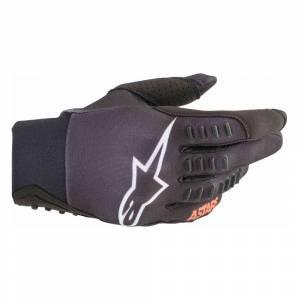 Alpinestars SMX-E Black Orange Fluo Motocross Gloves