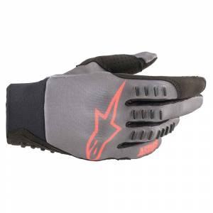 Alpinestars SMX-E Grey Red Fluo Motocross Gloves
