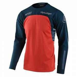 Troy Lee Designs Scout SE Systems Marine Orange Motocross Jersey