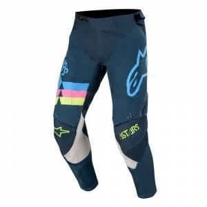 Alpinestars Techstar Venom Navy Aqua Pink Fluo Motocross Pants