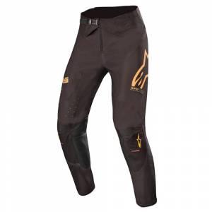 Alpinestars Supertech Black Orange Fluo Motocross Pants