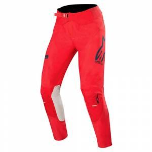 Alpinestars Supertech Bright Red Navy Off White Motocross Pants