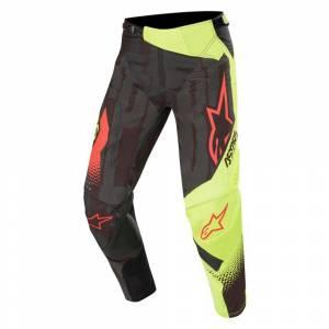 Alpinestars Techstar Factory Black Yellow Fluo Red Fluo Motocross Pants