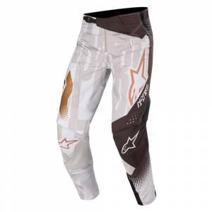 Alpinestars Techstar Factory Metal Grey Black Copper Motocross Pants