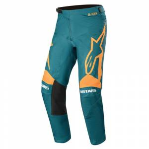 Alpinestars Racer Supermatic Orange Petrol Motocross Pants
