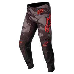 Alpinestars Kids Racer Tactical Black Grey Camo Red Fluo Motocross Pants