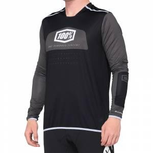 100% R-Core X Black White Motocross Jersey