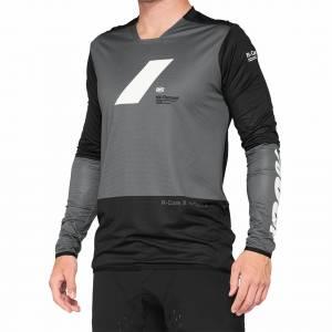 100% R-Core X Charcoal Black Motocross Jersey