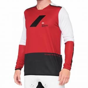 100% R-Core X Cherry Black Motocross Jersey