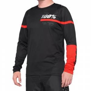 100% R-Core Black Red Motocross Jersey