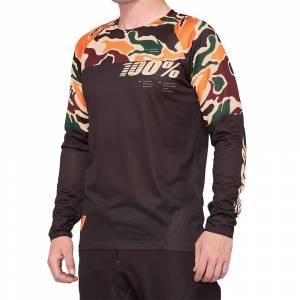 100% R-Core Warm Black Camo Motocross Jersey