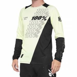 100% R-Core Yellow Black Motocross Jersey