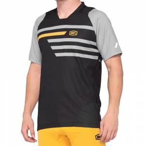 100% Celium Black Mustard Motocross Jersey