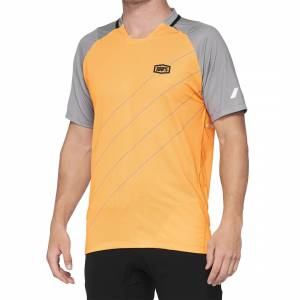 100% Celium Orange Grey Motocross Jersey