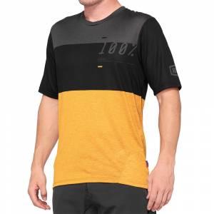 100% Airmatic Black Mustard Motocross Jersey