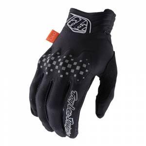 Troy Lee Designs Gambit Solid Black Motocross Gloves