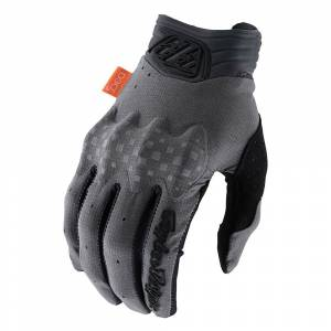 Troy Lee Designs Gambit Solid Charcoal Motocross Gloves