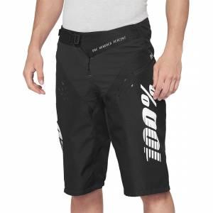 100% R-Core Black Motocross Shorts