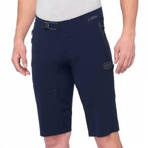 100% Celium Navy Motocross Shorts