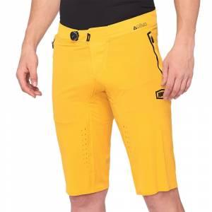 100% Celium Mustard Motocross Shorts
