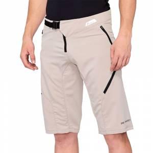 100% Airmatic Warm Grey Motocross Shorts