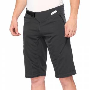 100% Airmatic Charcoal Motocross Shorts