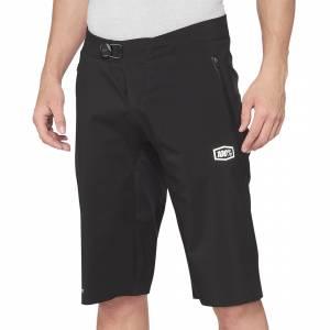 100% Hydromatic Black Motocross Shorts