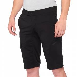 100% Ridecamp Black Motocross Shorts