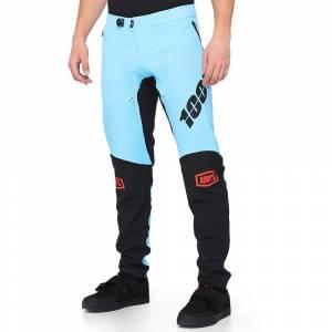 100% R-Core X Light Blue Black Motocross Pants
