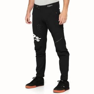 100% R-Core X Black White Motocross Pants