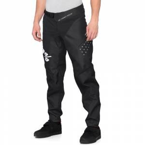 100% R-Core Black Motocross Pants