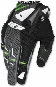UFO AirBase Black Motocross Gloves